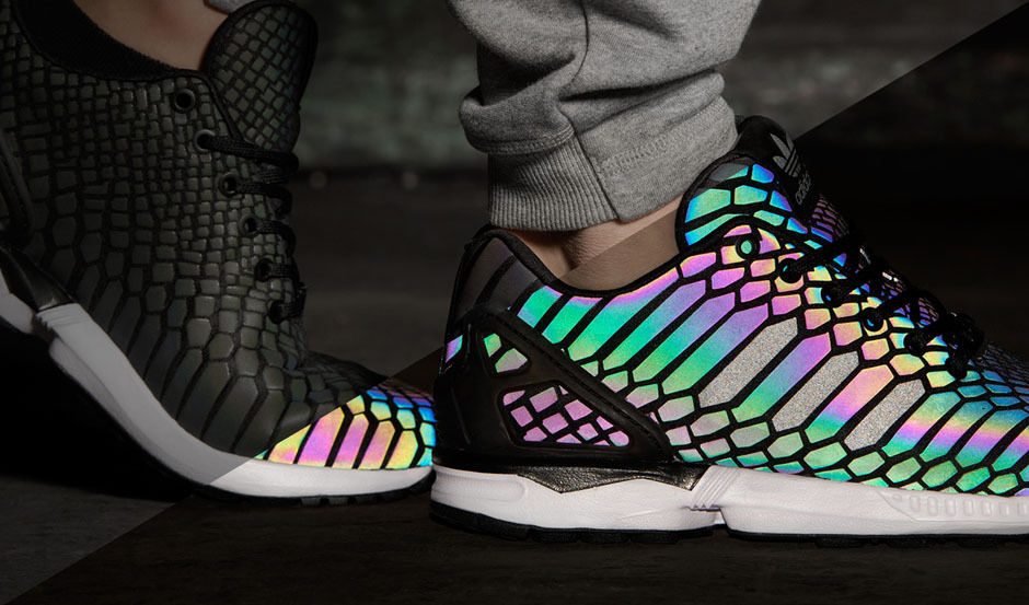 adidas zx flux holographic