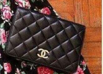 bag black clutch coco chanel