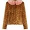 Fifi leopard-print faux-fur jacket