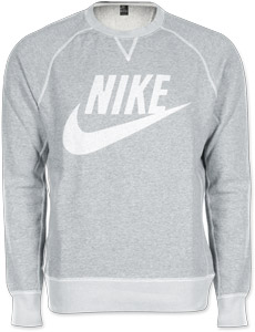 Nike Vintage Marl Logo Crew sweater grey heather