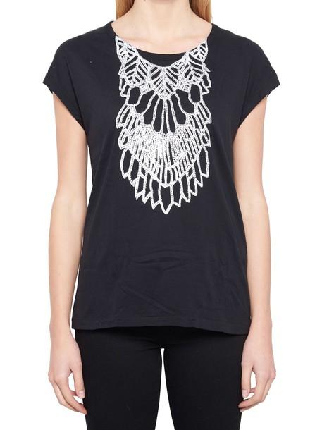 ANN DEMEULEMEESTER t-shirt shirt t-shirt black top