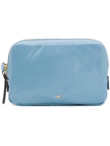 Anya Hindmarch women pouch blue bag