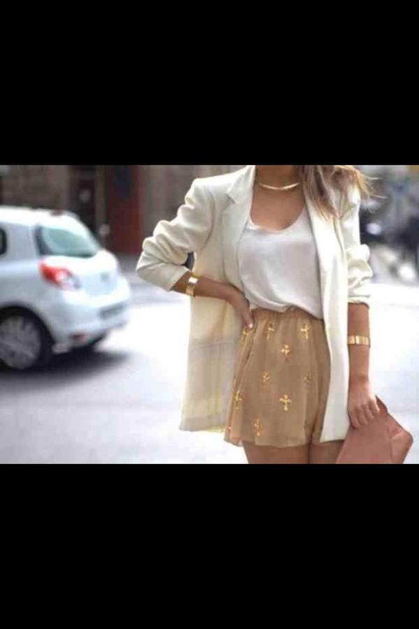 jacket skirt bag shorts