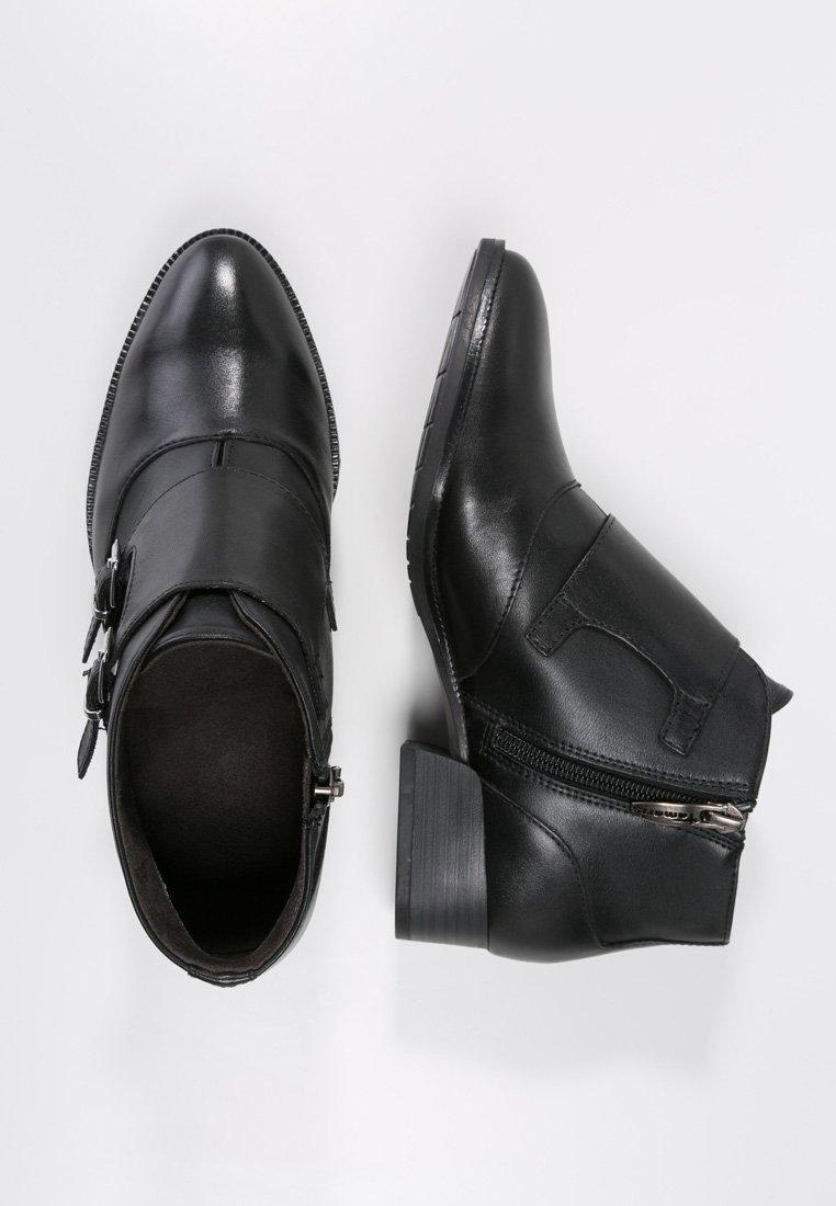 tamaris ankle boot black. Black Bedroom Furniture Sets. Home Design Ideas