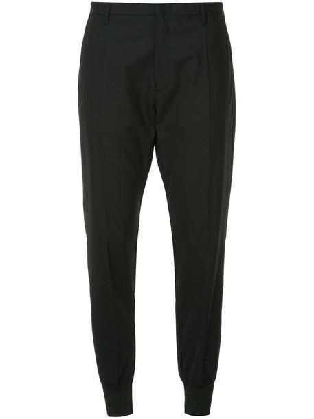 Hope women spandex black wool pants