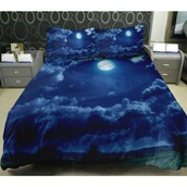 home accessory,sheet,sheets,bedroom,home decor,sleep,moon,galaxy print,landscape,cool,dark,bedding