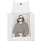 Kurt cobain stripped tanktop - basic tees shop