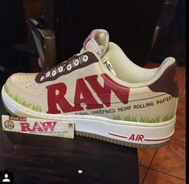 nike air force raw