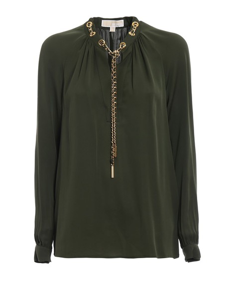 Michael Kors blouse silk top