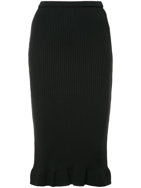 Aula skirt pencil skirt women black
