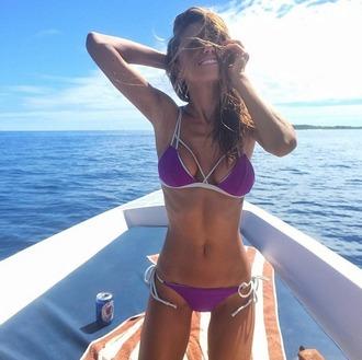 swimwear kai lani swimwear bikini purple