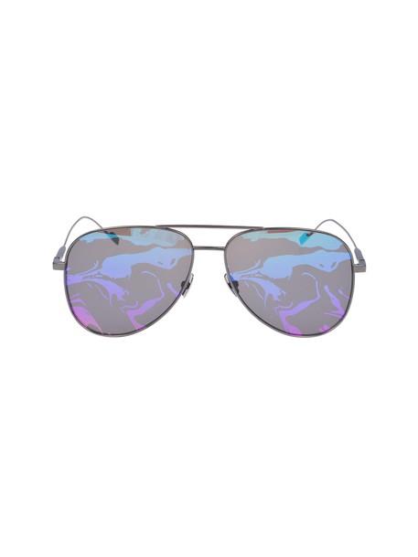 rainbow classic sunglasses multicolor