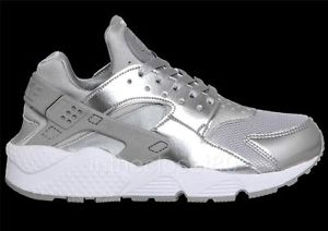 air huarache mens Silver
