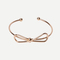 Bracelet avec nœuds - doré -french shein(sheinside)