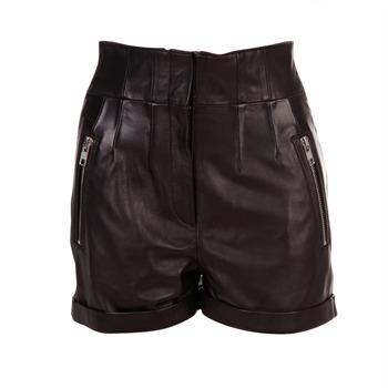 produits morgan nouvelle collection brandalley short en cuir zipp noir morgan brandalley. Black Bedroom Furniture Sets. Home Design Ideas