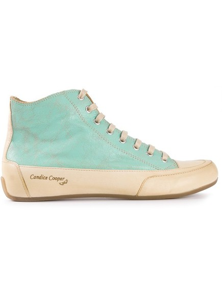shoes sneakers trainers cracked paint sneakers mint candice cooper