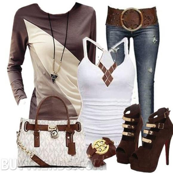 high heels Belt bag hair accessories