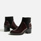 Contrast high heel ankle boots - view all-shoes-woman-sale | zara canada