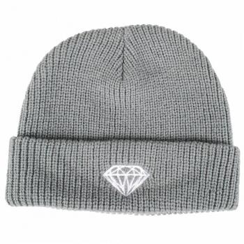 8a7e1321a02 Diamond Supply Co Diamond Supply Co. Brilliant Fold Beanie - Grey ...