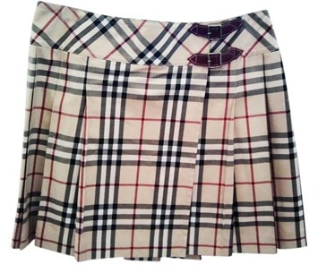 Burberry Dress Classic Nova Print Mini Kilt | Tradesy