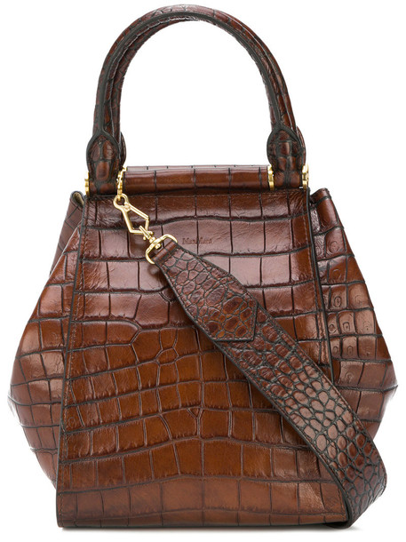 women bag tote bag leather brown