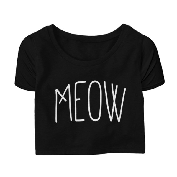 top meow hipster cats girl tight