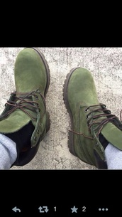 shoes,timberlands boots,army green,timberland boots,timberland boots shoes,timberlands,boots,hunter green,green