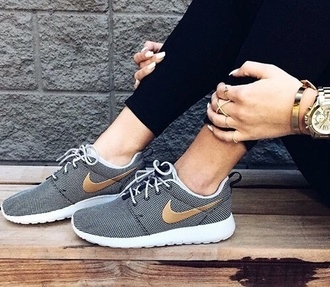 shoes nike shoes gold