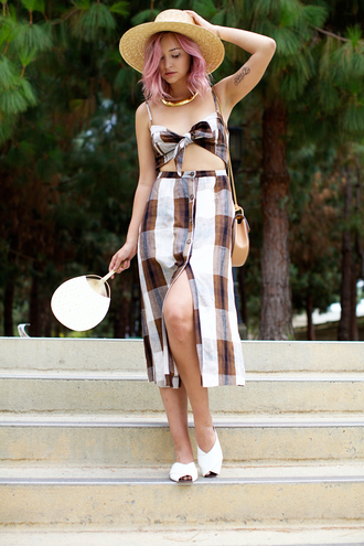 late afternoon blogger dress shoes hat bag jewels