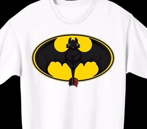batman toothless t-shirt how to train your dragon batman 9 gag meme mens womens