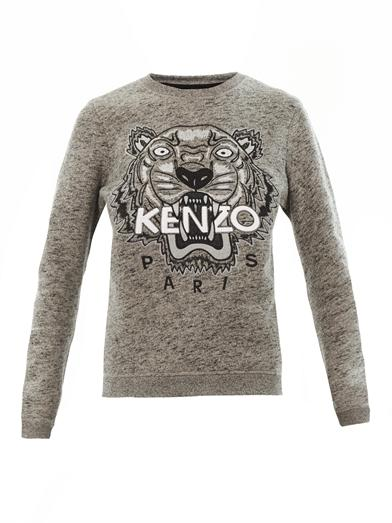 Tiger Embroidered sweatshirt | Kenzo | MATCHESFASHION.COM