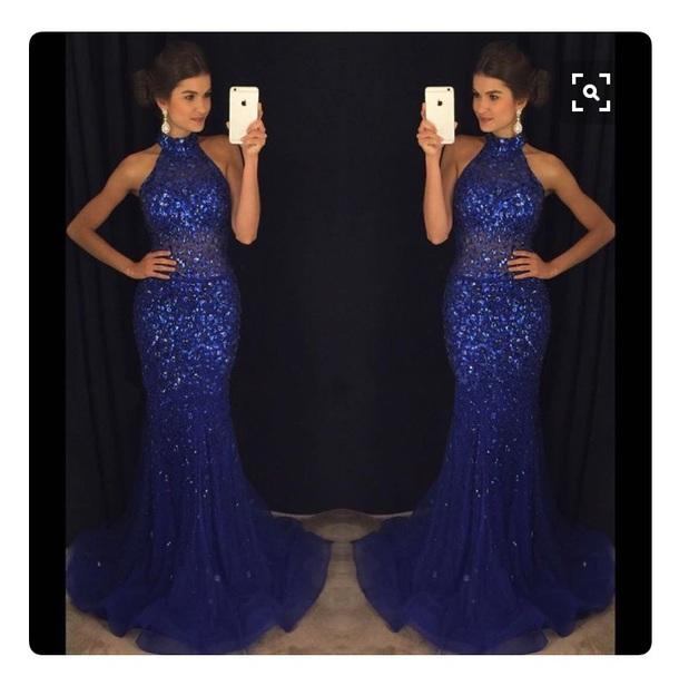 812a0e673cd dress blue glitz prom dress