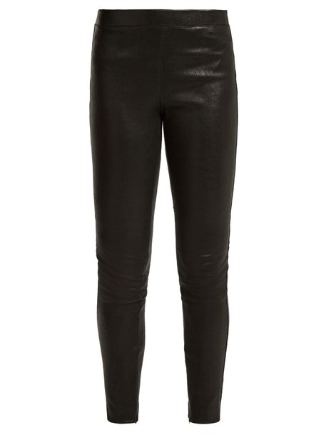 Elizabeth and James leggings leather leggings leather black pants