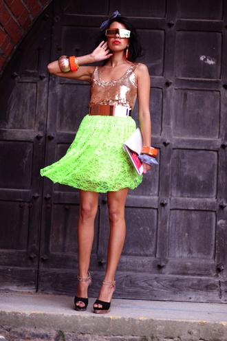shoes bag t-shirt skirt macademian girl belt jewels sunglasses