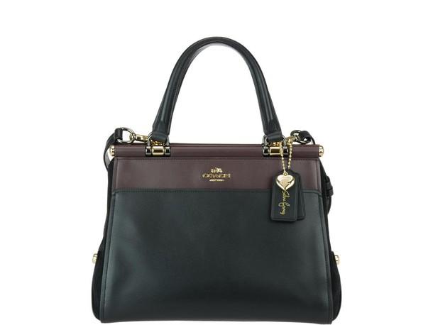 coach bag cherry black