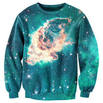 I liked this design on #Fab. Galaxy Sweater Unisex