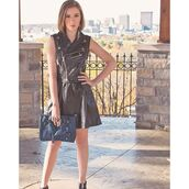 bag,blogger trend,fashion model,leather dress,leather jacket,jewelry,blogger