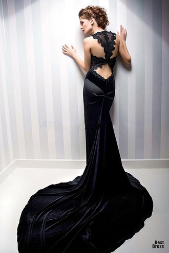 coat bien savvy black evening dresses see-through evening gowns ceremony gowns back velvet