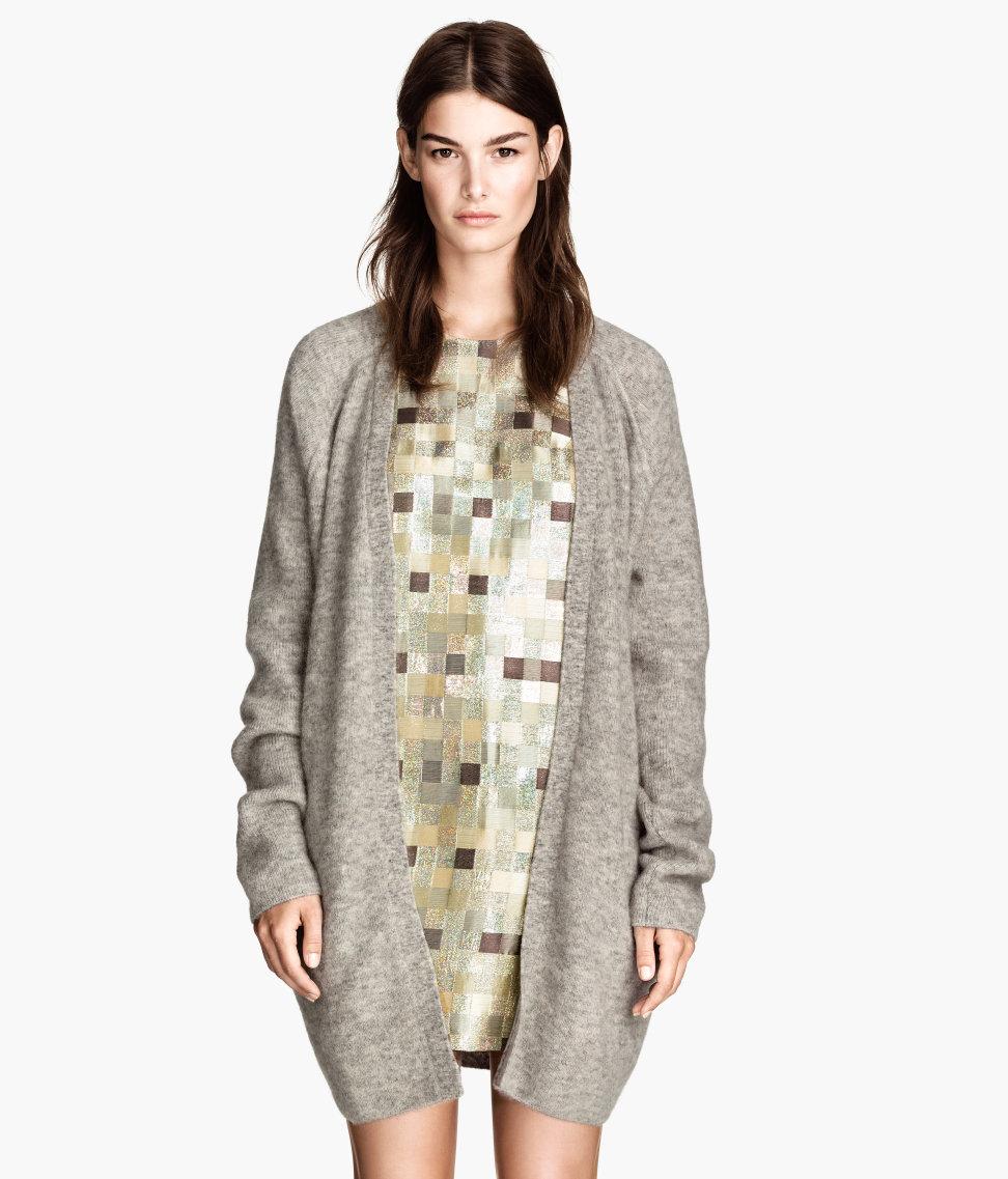 H&M Mohair-blend Cardigan $79.95