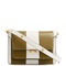 Trunk striped medium leather shoulder bag | marni | matchesfashion.com us