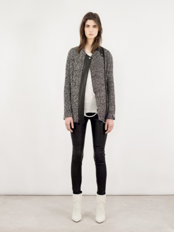 jacket fashion iro lookbook shoes pants