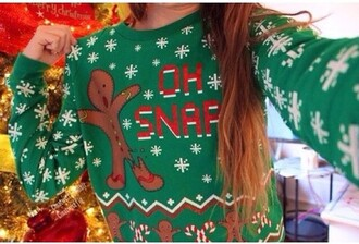 sweater ugly christmas sweater cute inlove