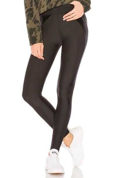 puma velvet black pants