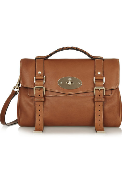 Mulberry | The Alexa leather satchel | NET-A-PORTER.COM
