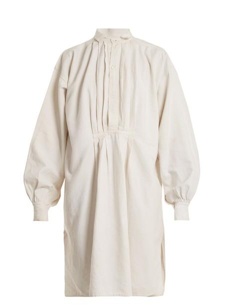 shirtdress embroidered dress