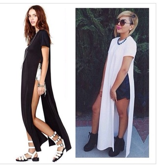 shirt t-shirt dress white t-shirt long shirt long t-shirt dress