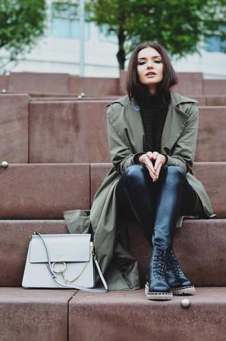 lolita mas blogger coat bag pants sweater shoes