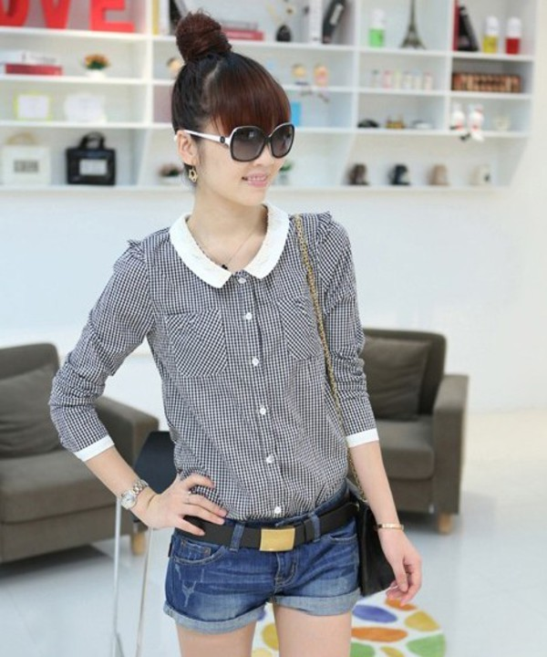 blouse shirt collar