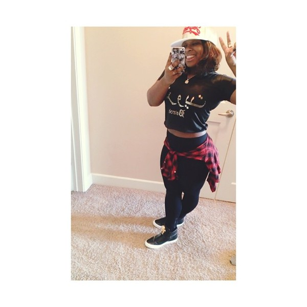 shirt reginae carter leggings