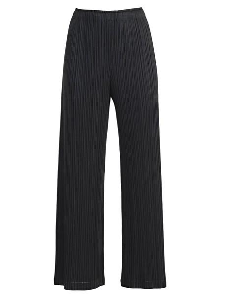 PLEATS PLEASE ISSEY MIYAKE black pants